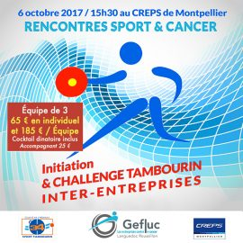 Rencontre « sport & cancer »